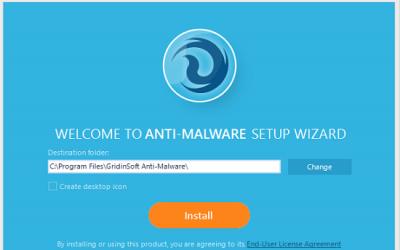 GridinSoft Anti-Malware – Αντιμετώπιση ιών Shareware