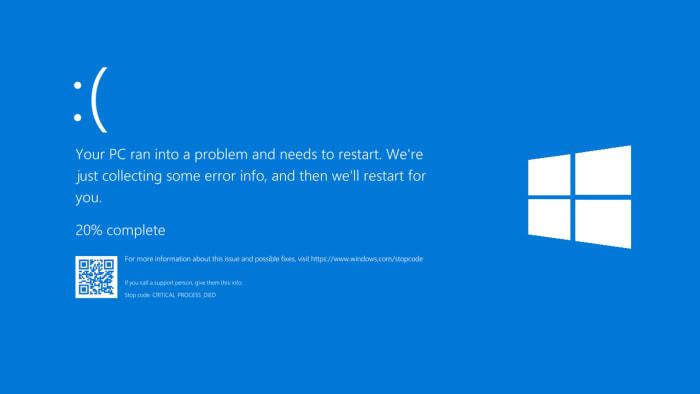 Πρόβλημα με τον υπολογιστή σας και χρειάζεται Restart